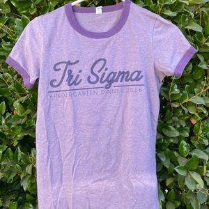 Tri-Sigma Kindergarten Dinner T-Shirt